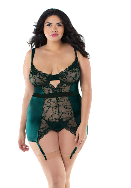 Emerald Evening Chemise