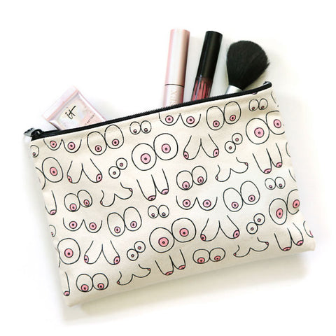Toy & Toiletry Boob Pouch by Unblushing