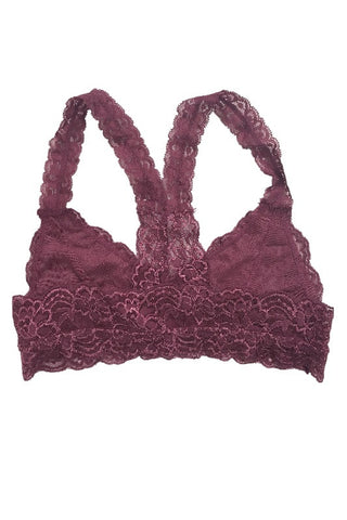Esmee Lace Bralette - Mauve, , Intimates, Essentials, new, Bayberry Co. - 2