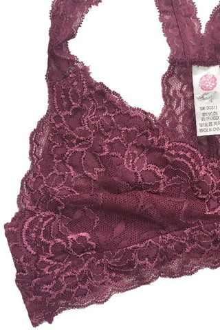 Esmee Lace Bralette - Mauve, , Intimates, Essentials, new, Bayberry Co. - 3