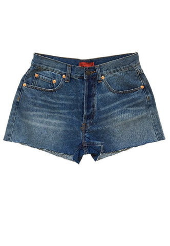 Classic High Waisted Shorts, , Bottoms, New, Bayberry Co. - 1