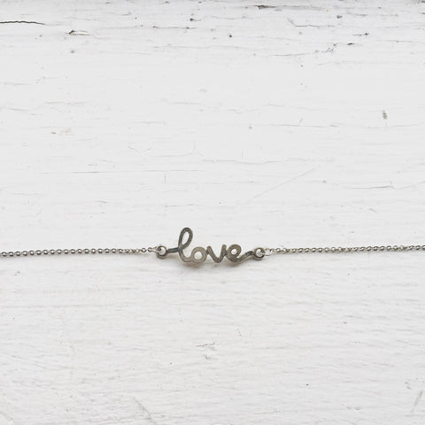 Love Bracelet - Silver, , sale, jewelry, Bayberry Co. - 1