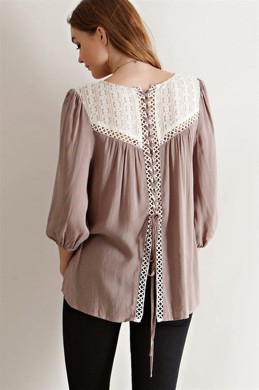 Laced In Romance Top, , Tops, New, Bayberry Co. - 1