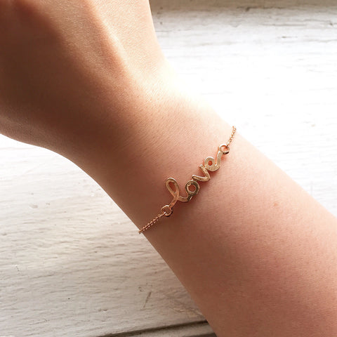 Love Bracelet - Rose Gold, , sale, jewelry, Bayberry Co. - 3