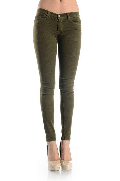 The Incredible Jeans - Olive, , Bottoms, New, Bayberry Co. - 1