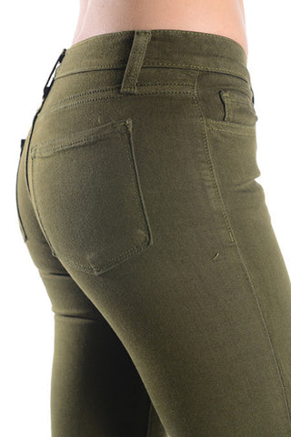 The Incredible Jeans - Olive, , Bottoms, New, Bayberry Co. - 4