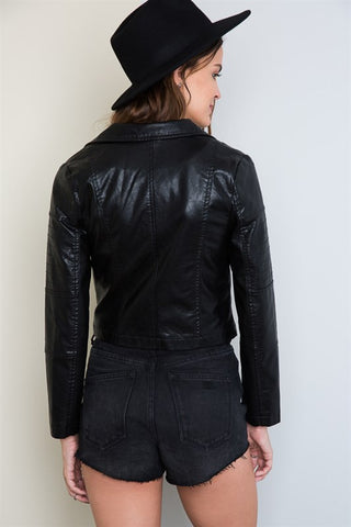 Life's Tough Biker Jacket, , Outerwear, New, Bayberry Co. - 5