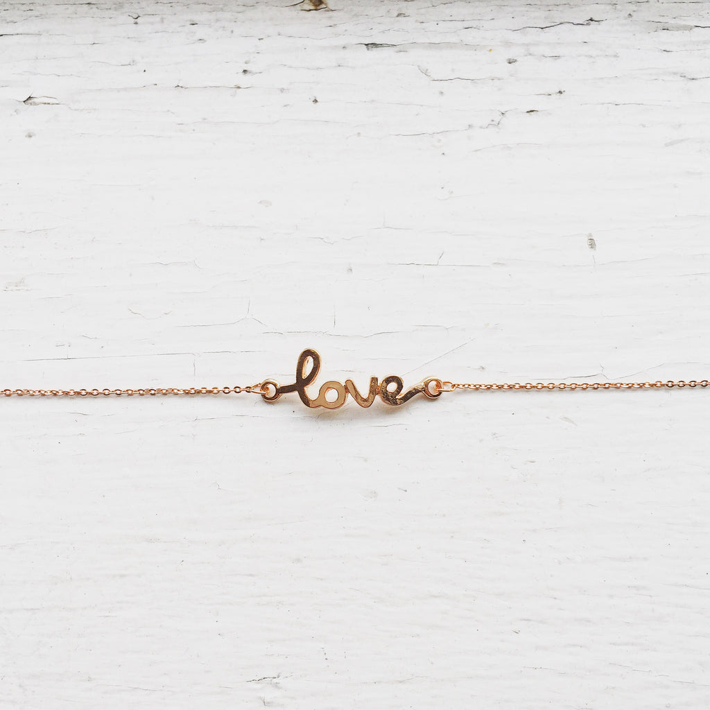 Love Bracelet - Rose Gold, , sale, jewelry, Bayberry Co. - 1