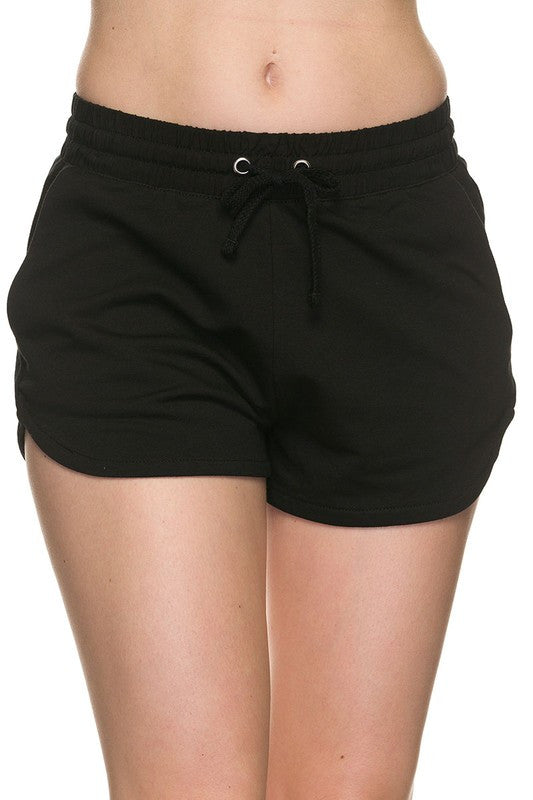 Basic Dolphin Shorts - Black