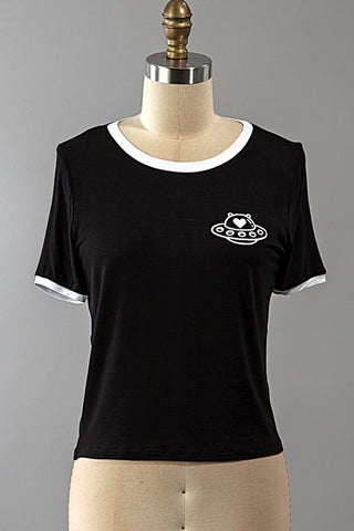 Spaceship Tee, , Tops, New, Bayberry Co. - 1
