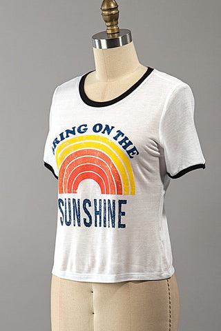 Bring On The Sunshine Top, , Tops, New, Bayberry Co. - 2