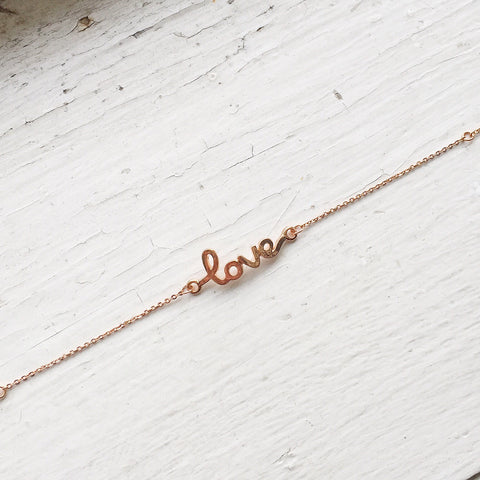 Love Bracelet - Rose Gold, , sale, jewelry, Bayberry Co. - 2