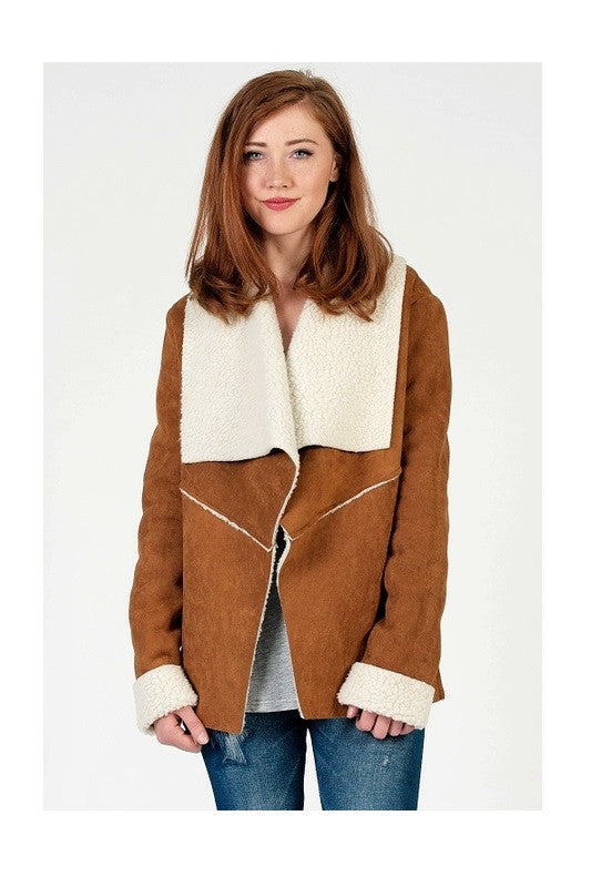 Seneca Falls Suede Jacket, , Tops, Outerwear, New, Bayberry Co. - 1