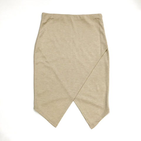 Kellen Foldover Skirt - Beige, , sale, Bayberry Co. - 1