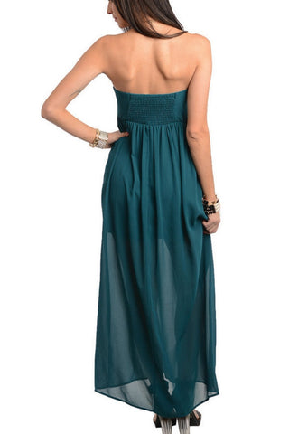 Be My Sweetheart Maxi Dress - Teal, , Dresses, New, Bayberry Co. - 2