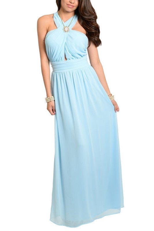 Head Over Heels Maxi Dress - Blue, , Dresses, New, Bayberry Co. - 1