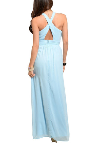 Head Over Heels Maxi Dress - Blue, , Dresses, New, Bayberry Co. - 2