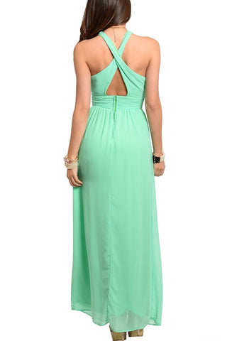 Head Over Heels Maxi Dress - Seafoam Green, , Dresses, New, Bayberry Co. - 2