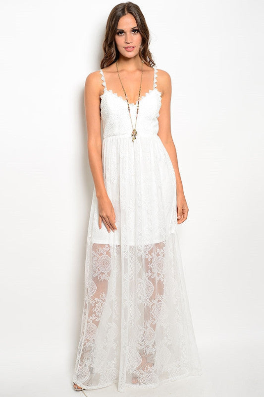 Sienna Lace Maxi Dress, , Dresses, New, Bayberry Co. - 1