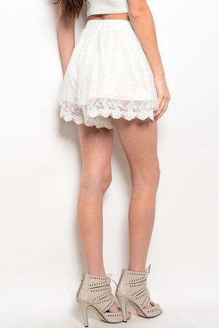 Emma Lace Shorts, , Bottoms, New, Bayberry Co. - 2
