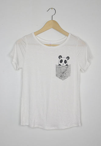 Pocket Panda Tee, , Tops, New, Bayberry Co. - 2