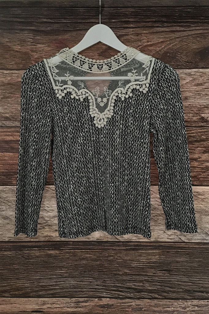 Victorian Lace Top, , Tops, New, Bayberry Co. - 1