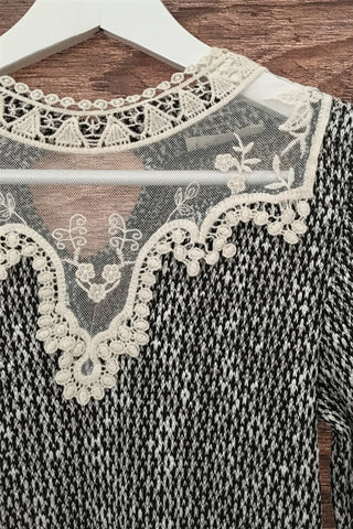 Victorian Lace Top, , Tops, New, Bayberry Co. - 3
