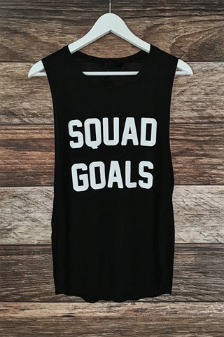 Squad Goals Tank, , Tops, New, Bayberry Co. - 1