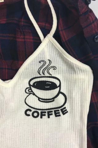 Coffee Cup Cami, , Tops, New, Bayberry Co. - 2
