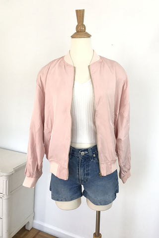 Love Me Forever or Never Bomber Jacket, , Outerwear, New, Bayberry Co. - 3