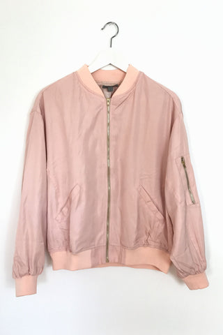 Love Me Forever or Never Bomber Jacket, , Outerwear, New, Bayberry Co. - 2