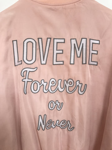Love Me Forever or Never Bomber Jacket, , Outerwear, New, Bayberry Co. - 5