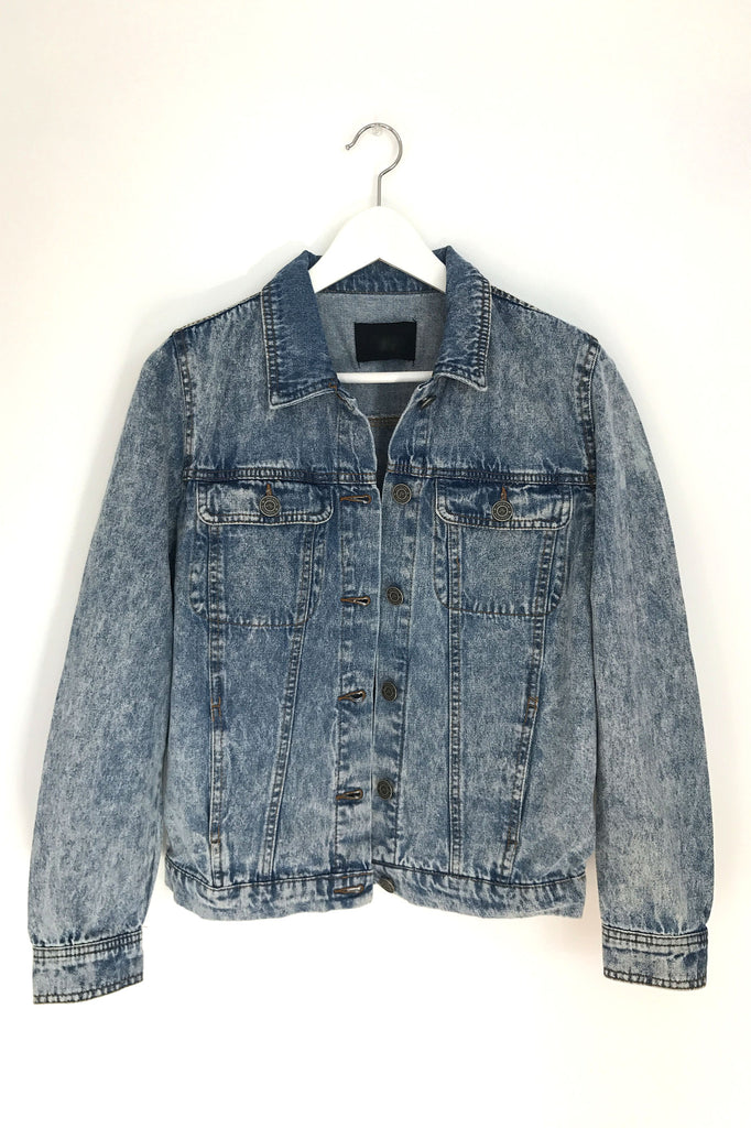 Vintage Wash Denim Jacket, , Outerwear, New, Bayberry Co. - 1