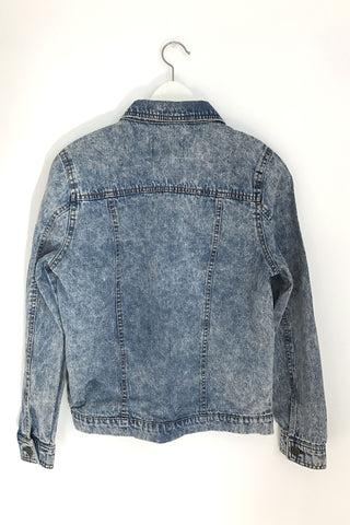 Vintage Wash Denim Jacket, , Outerwear, New, Bayberry Co. - 2