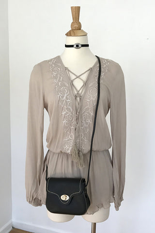 Desert Sand Romper, , Rompers, New, Bottoms, Tops, Bayberry Co. - 4