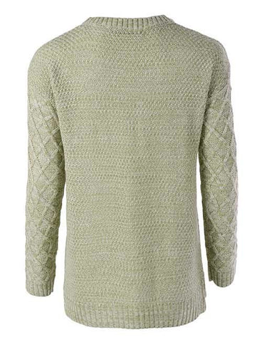 By The Fireside Sweater - Jade, , Tops, Sweaters, New, Bayberry Co. - 2
