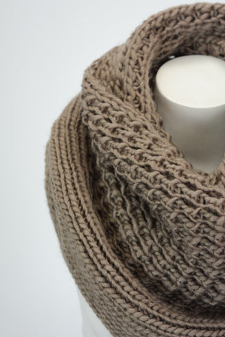 Ultimate Infinity Scarf - Mocha, , Winter, scarf, new, Bayberry Co. - 2
