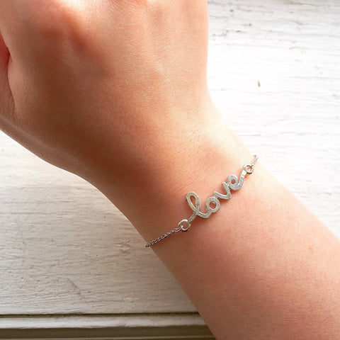 Love Bracelet - Silver, , sale, jewelry, Bayberry Co. - 3