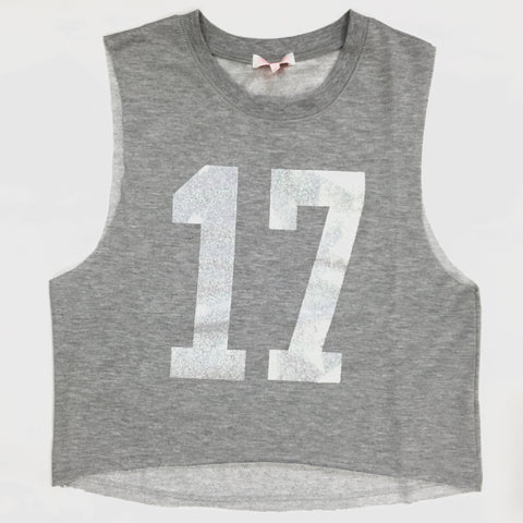 17 Again Tank - Gray, , sale, Bayberry Co. - 2