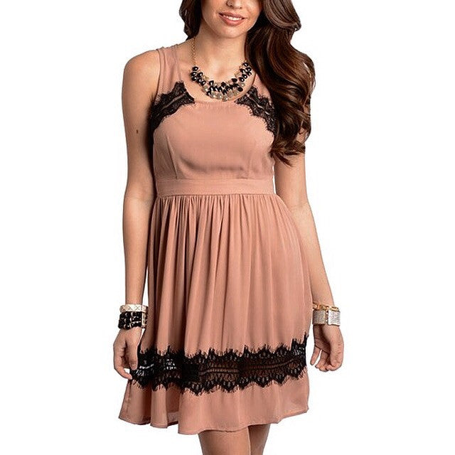 Dusty Rose Dress, , Sale, Bayberry Co. - 1