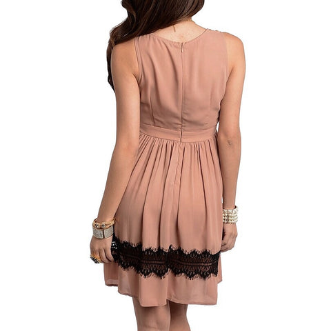 Dusty Rose Dress, , Sale, Bayberry Co. - 2