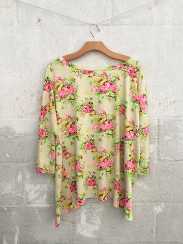 Calista Floral Top, , sale, Bayberry Co. - 3