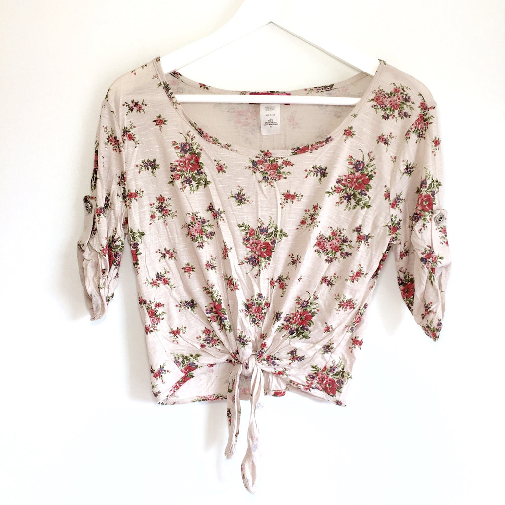 Gabrie Floral Top, , sale, Bayberry Co. - 1