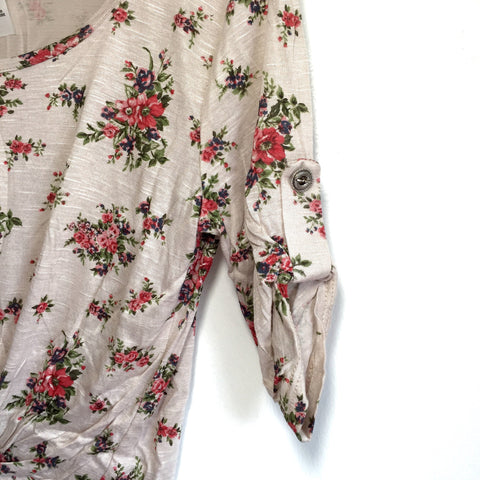 Gabrie Floral Top, , sale, Bayberry Co. - 2