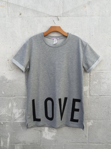 Love Hate Oversized Tee, , sale, Bayberry Co. - 2