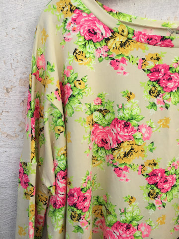 Calista Floral Top, , sale, Bayberry Co. - 2