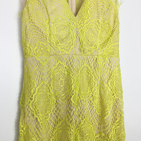 Aphrodite Dress - Lime Yellow, , Dresses, New, Bayberry Co. - 3