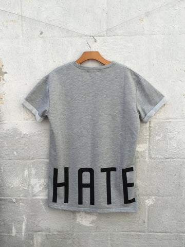 Love Hate Oversized Tee, , sale, Bayberry Co. - 3
