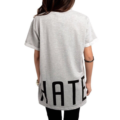 Love Hate Oversized Tee, , sale, Bayberry Co. - 5