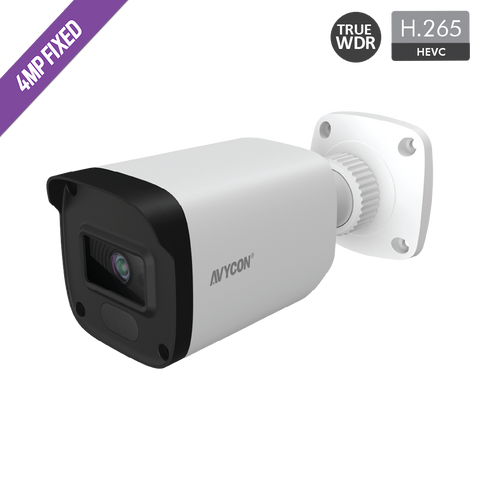 4MP H.265 FIXED BULLET NETWORK CAMERA